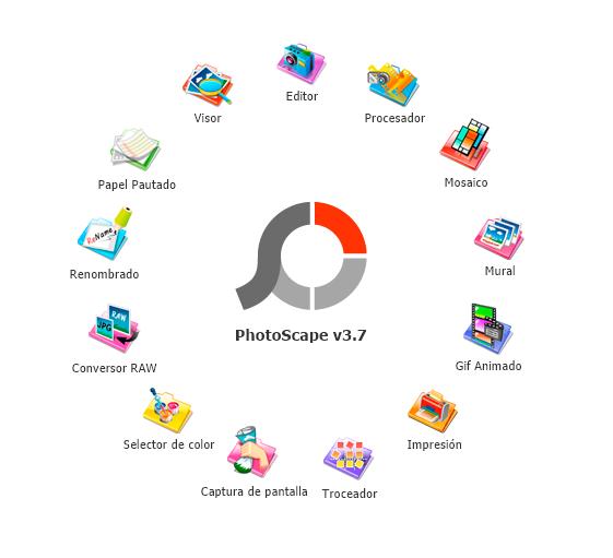 Apariencia Photoscape