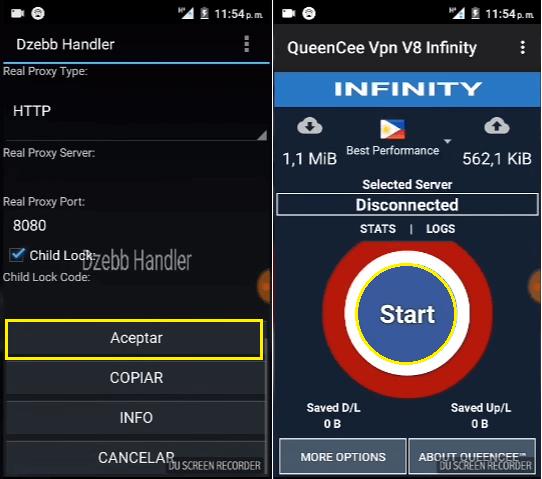 QUEENCEE V9 TÉLÉCHARGER VPN