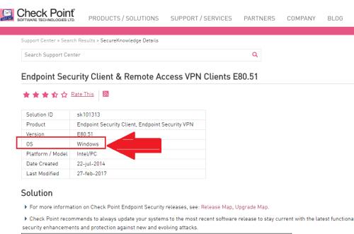 descargar gratis checkpoint vpn-1 secureclient