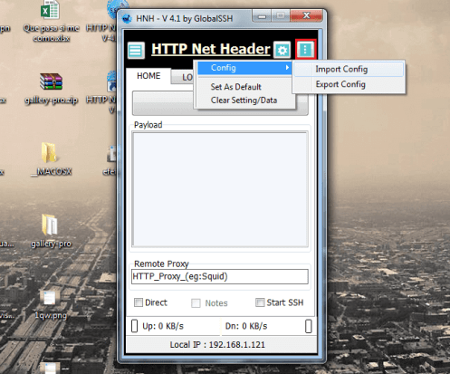 payload host http net header v4.1