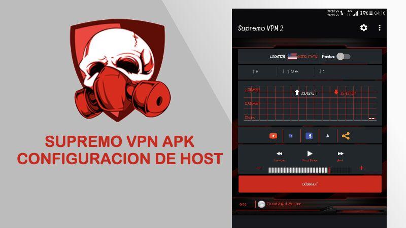 descargar instalar supremo vpn apk configuracion host payload internet gratis 2018