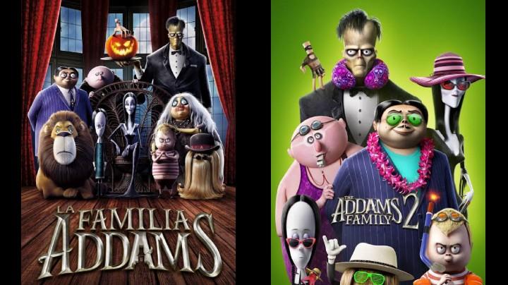 Los locos addams (Películas 1 y 2) HD 720p (Mega)