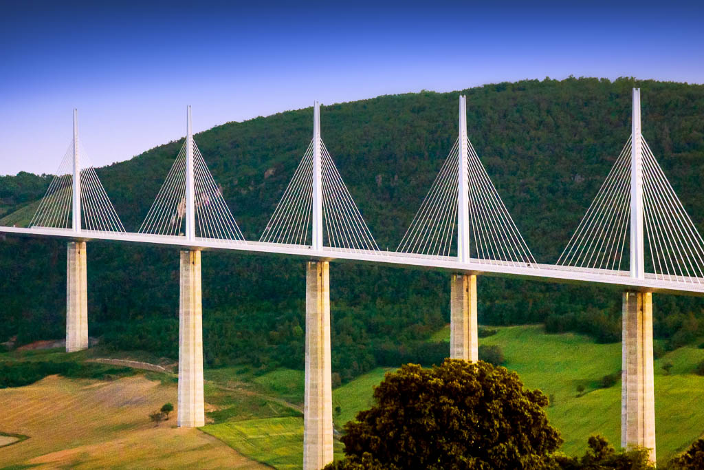 2018, Aveyron, Gilles Deschamps, Occitanie, Paysage, Pont de Millau, Région Languedoc, South of france, Sud de France
