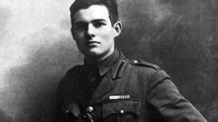 Ernest Hemingway jeune