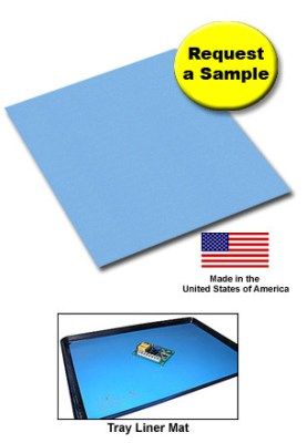 B80 Worksurface Mats / Tray Liner Mat / Request a Sample / Made in the United States of America