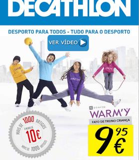 3d1d2b3c4 Catálogo Decathlon - Regresso ao Desporto