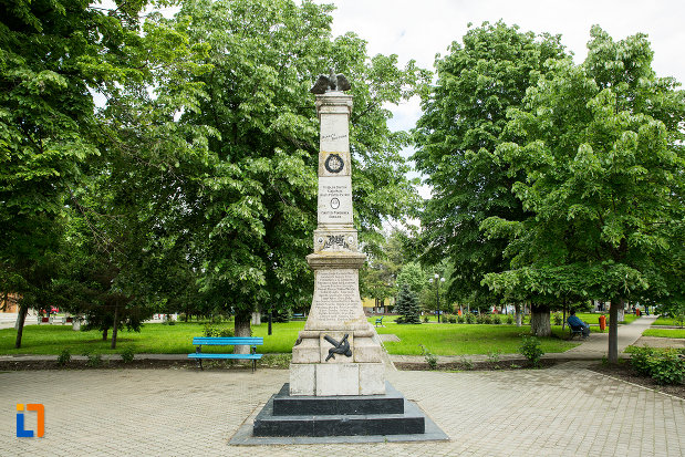parcul-cu-monumentul-eroilor-din-vanju-mare-judetul-mehedinti