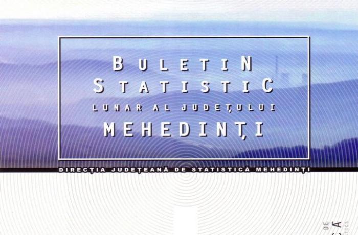 Post de consilier asistent vacant la Direcția Judeţeană de Statistică Mehedinți