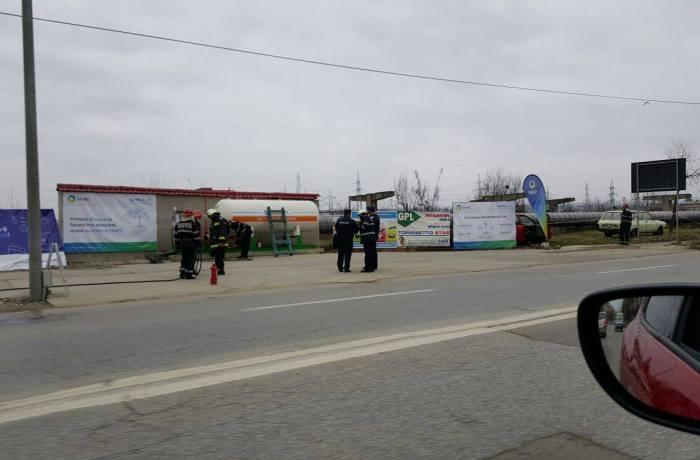 Pericol de explozie la o staţie GPL situată pe Splai Mihai Viteazu