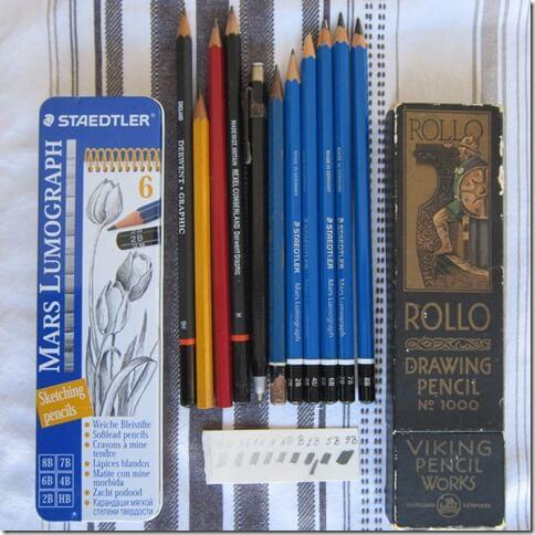 Ma petite collection de crayons