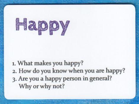 Describe Cards - Happy