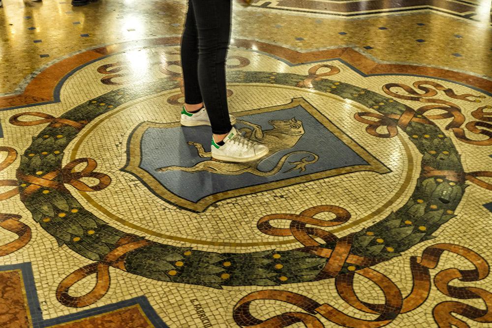 Touro Galleria Vittorio Emanuele II