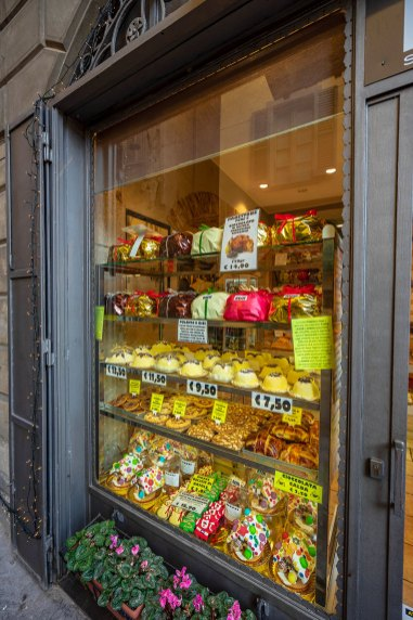 Uma das lojas de guloseimas maravilhosas da cidade