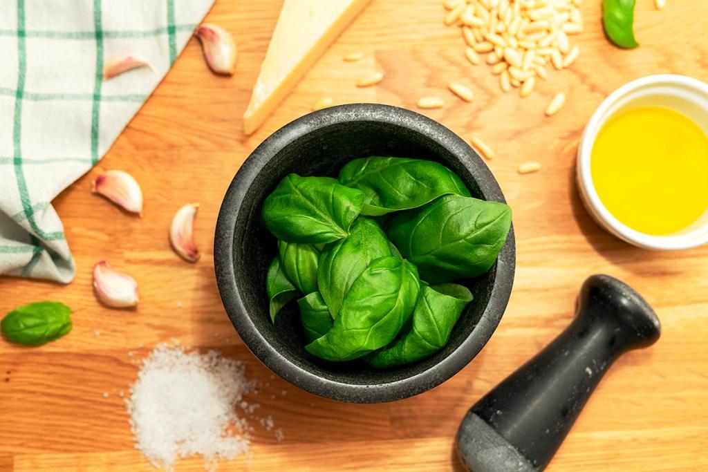 Pesto alla genovese: a receita original