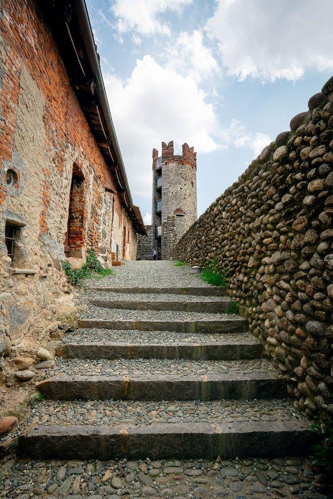 entrada para a torre