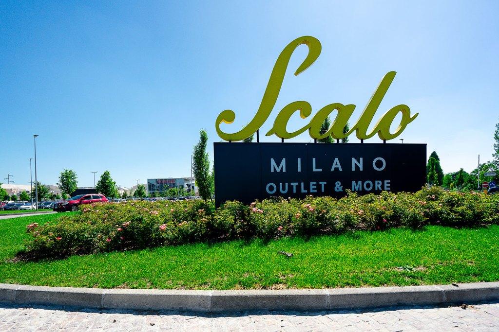 Outlet em Milão