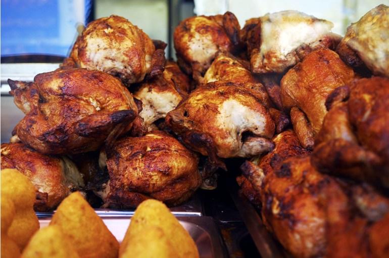 Frango Assado Street foods