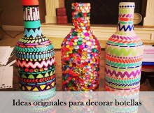 ideas originales para decorar botellas