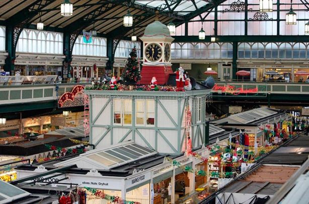 Central Market en Cardiff