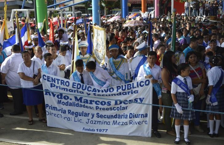 Escuela Marcos Dessy Fiestas Patrias