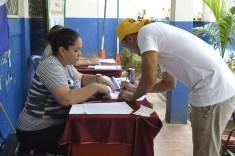 Centro de verificación Esc Mons A. González