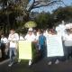 Marchan estudiantes en contra de accidentes