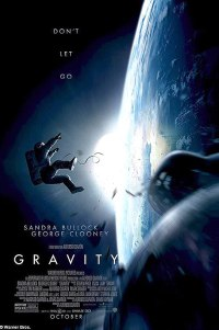 Poster for 2013 sci-fi thriller Gravity