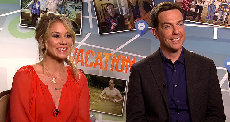 Christina Applegate And Ed Helms Talk VACATION In Exclusive Interview
