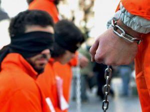 Presos de la base de Guantámano