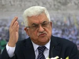 Presidente palestino Mahmud Abbas