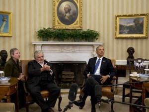 Mujica reunido en la Casa Blanca con Obama