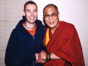 Adam MCA Yauch y el Dalai Lama