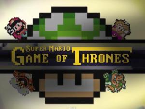 Intro Game of Thrones versión Super Marios