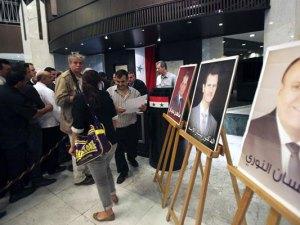 Masiva concurrencia en elecciones de Siria