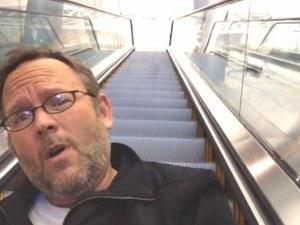 Richard Dunn el pasajero creativo de l aeropuerto de Las Vegas