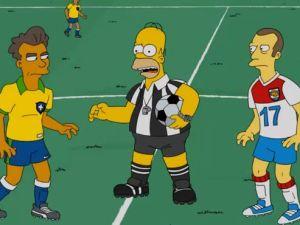 Para Los Simpsons No tienes que vivir mintiendo como un árbitro