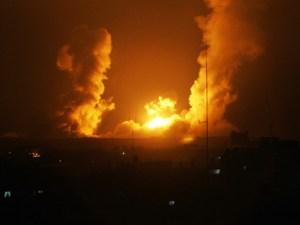 Gaza: Bombardeo israelí sobre Hebrón
