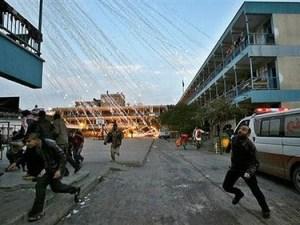 Gaza: Bombardeos sobre la ciudad