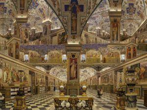 """""""Bibliothèque du Vatican (Biblioteca del Vaticano)"""