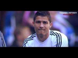Cristiano Ronaldo con uniforme blanco del RM
