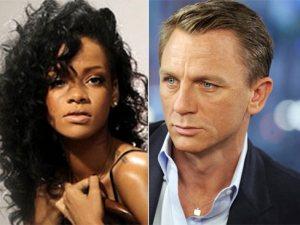Rihanna y Daniel Craig