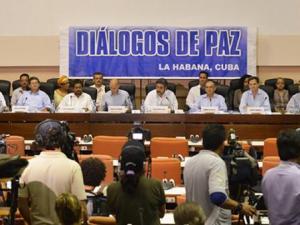 Mesa de diálogos de paz en La Habana