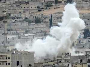 Kobane bajo fuego