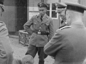 Militares Nazis en campos de concentración