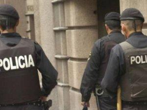 Funcionarios de la Policía Uruguaya