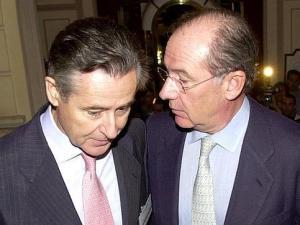Rodrigo Rato y Miguel Blesa