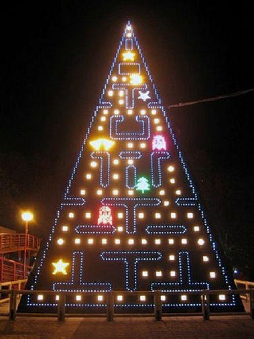 Un árbol para los amantes de Pacman