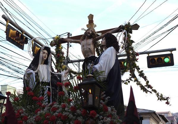 semana santa bolivra