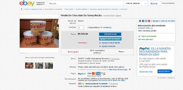 Ebay - Pirulin