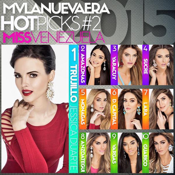 Favoritas al Miss Venezuela
